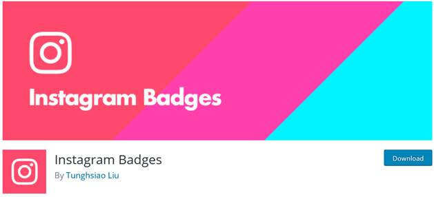 Instagram Badges on WordPress.org